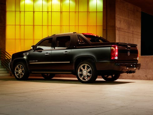 The 2013 Cadillac Escalade EXT.