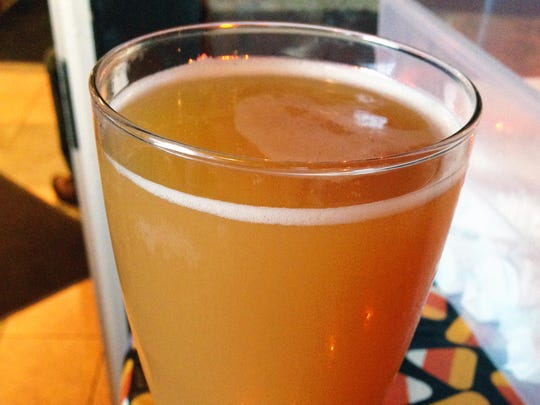 Apple Buzz from Oaken Barrel Brewing is brewed with local apples.