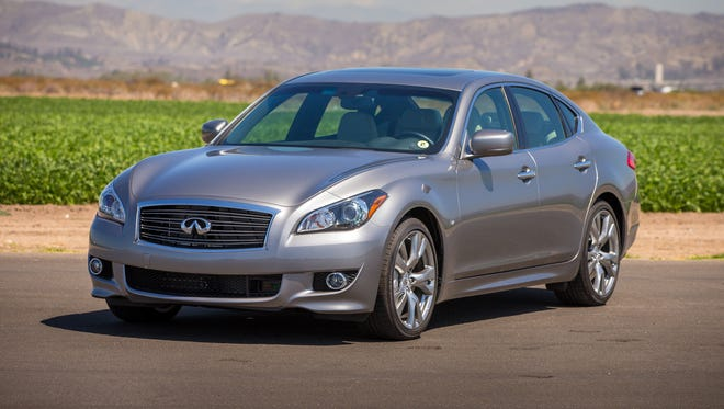 The 2014 Infiniti Q70 combines inspired performance, a crafted feel and advanced technology.