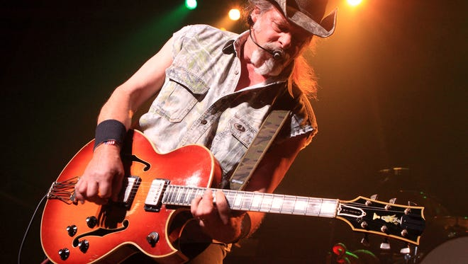Ted Nugent performing at Rams Head Live in Baltimore on Aug. 16, 2013. A Native American tribe has canceled an Aug. 4, 2014, concert by Nugent at its casino.