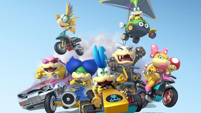 """It's survival of the fittest as """"Mario Kart 8"""" races into the Nintendo Wii U console."""