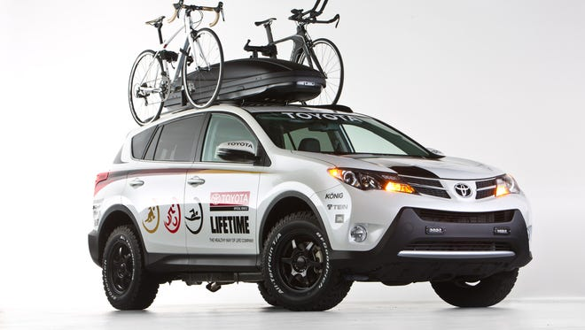 Toyota is showing this RAV4 for SEMA