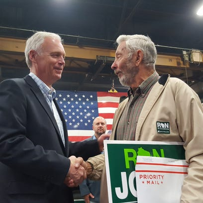 Graham champions Johnson during campaign stop