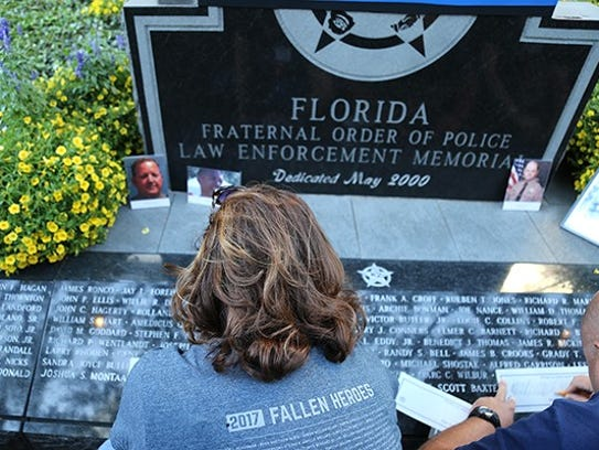 Officer Joe Heddy's daughter, Joy Laub, traces her