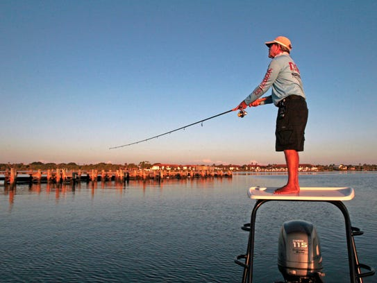 Anglers who fish the Indian River Lagoon have many