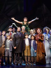 """The cast of the  musical """"Finding Neverland."""""""