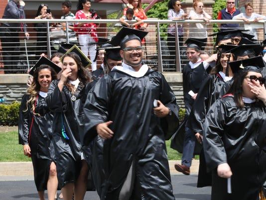 St. Thomas Aquinas College graduation