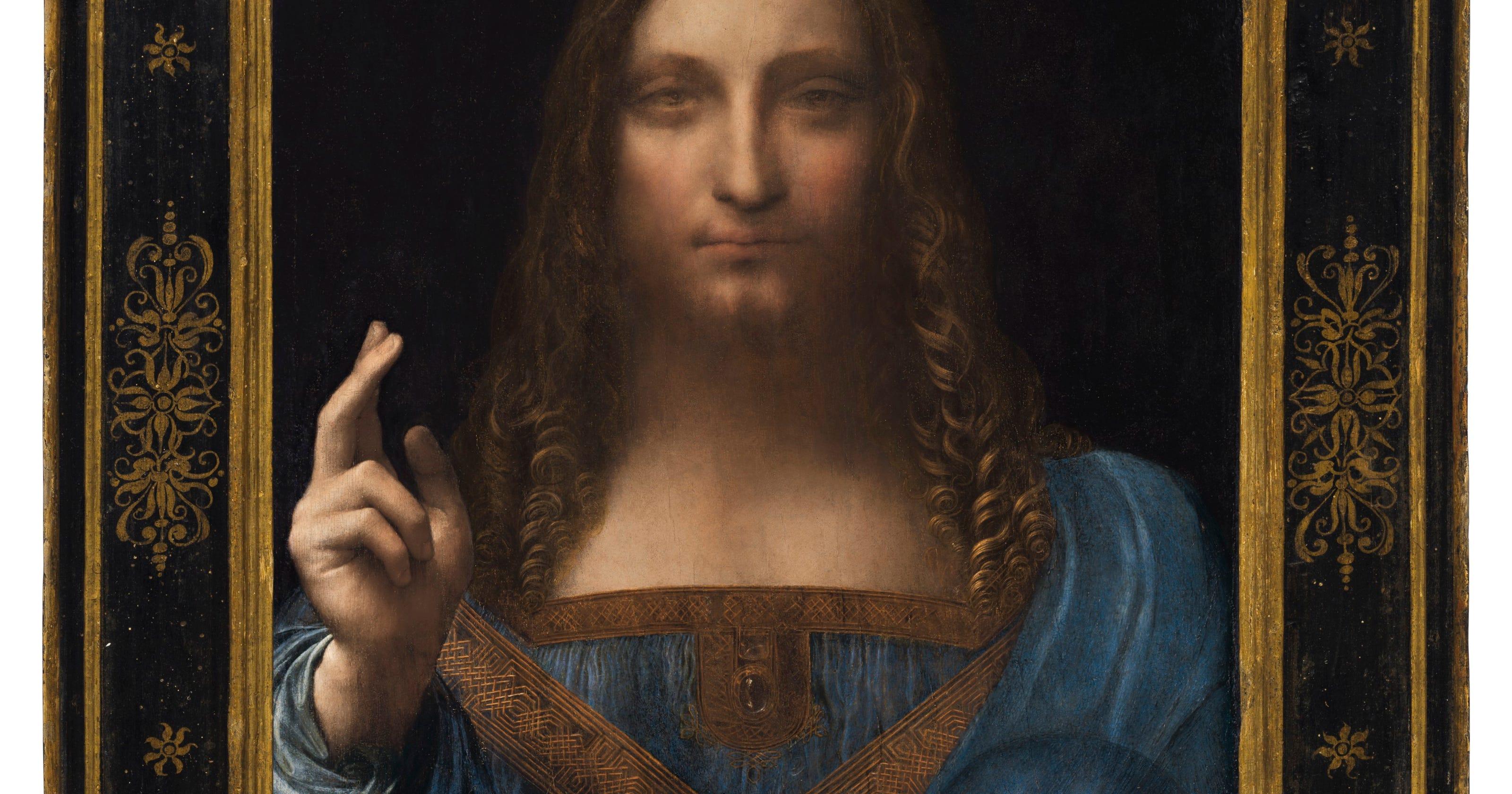 Leonardo da Vinci: Salvator Mundi sells for record $450 ...