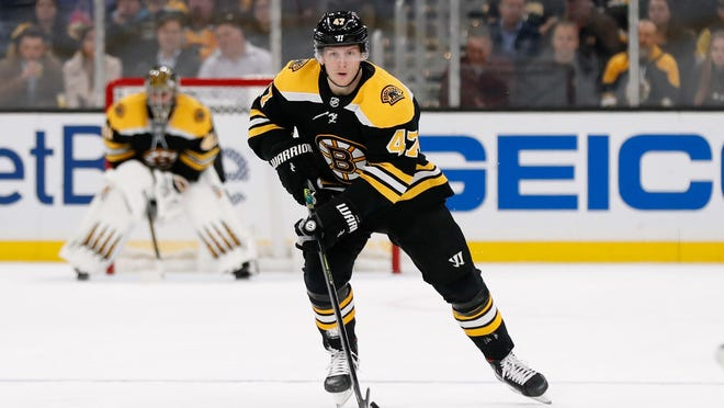 "Bruins defenseman Torey Krug is one of more than 100 pending unrestricted free agents taking part in the playoffs. ""It's definitely risky,"" he said."