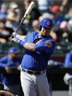 Kyle Schwarber is expected to bat leadoff for the Cubs; a greater concern is how well he'll man left field.
