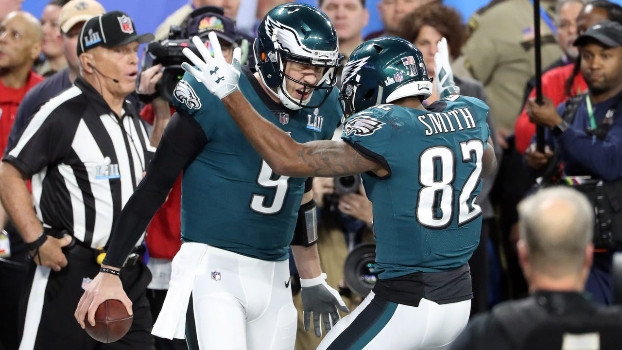 f7cb54275ce Nick Foles defies doubters, odds by delivering Eagles first Super Bowl title