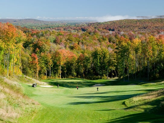 ... River Valley in Gaylord. (Photo: Courtesy of the Gaylord Golf Mecca: www.freep.com/story/sports/golf/2016/10/10/gaylord-golf-mecca/91854190