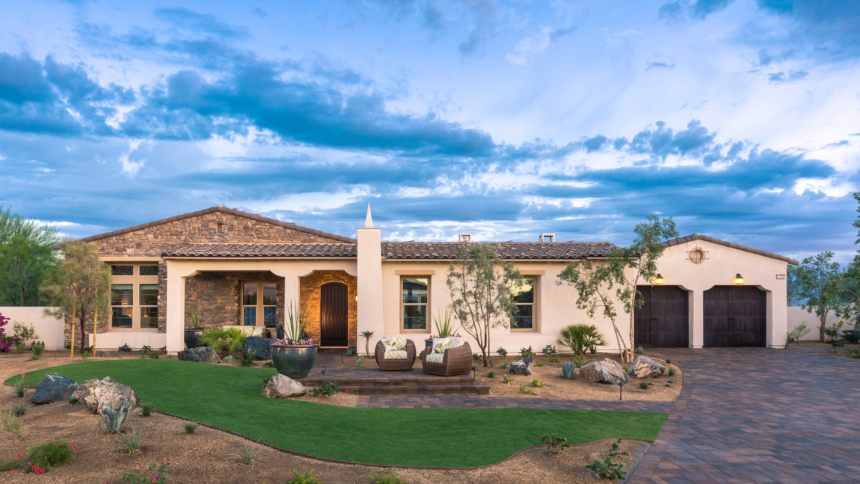 Lennar to unveil griffin ranch model homes in la quinta for Ranch model homes