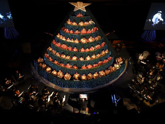 The annual Hobe Sound Singing Christmas Tree is this weekend.