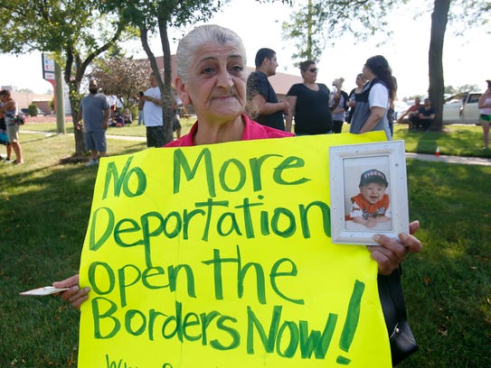 Sabrina Bashar of Sterling Heights begs ICE not to