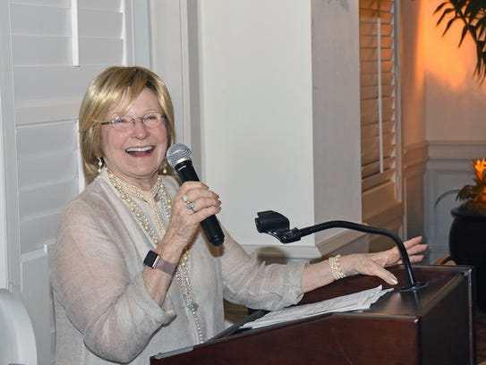 Pat Murphy serves as chair of the Grand Harbor Community