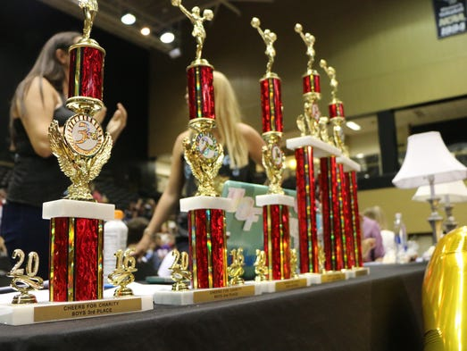 Four sororities and six fraternities competed at Alpha