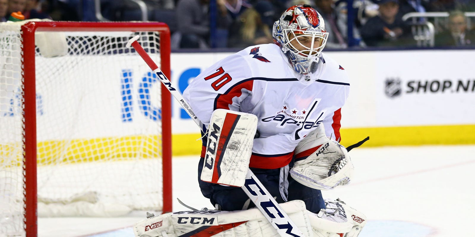 18ef4f20c70 NHL playoffs  Did benching Braden Holtby actually work out
