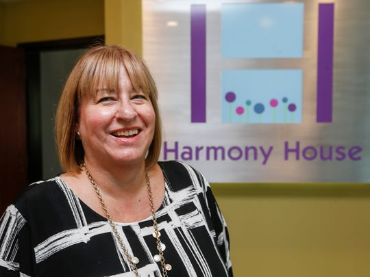 Lisa Farmer is the executive director of Harmony House.