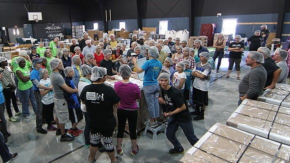 The Feed My Starving Children MobilePack will once again look to the people of Ruidoso to step up to the plate and take a bite out of childhood starvation on Feb. 26 and 27. At least four hundred and eighty volunteers are need for the two-day event. Twenty-two thousand nine hundred and fifty dollars must be raised to for volunteers to pack an estimated 108,800 meals.