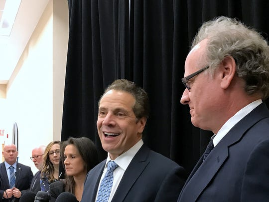 Gov. Andrew Cuomo and Howard Zemsky, president and