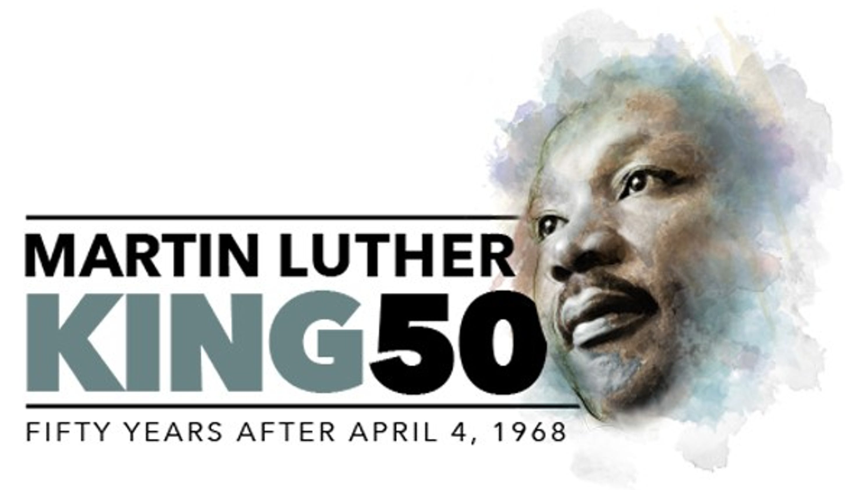 Image result for mlk50 logo