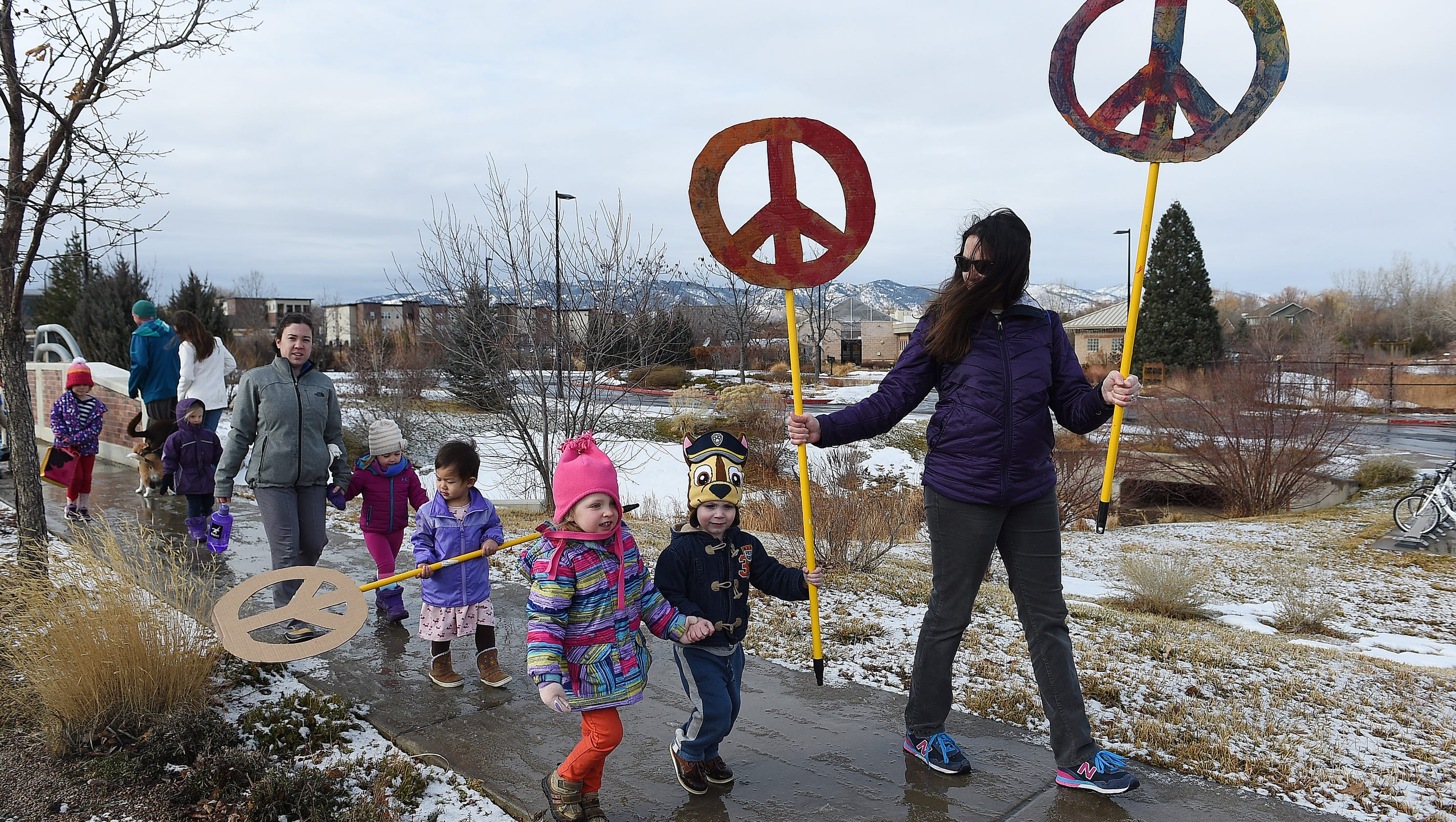 Sunshine Early Learning Academy children walk in annual ...March For Peace