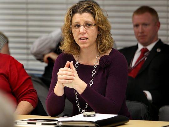 Leon County Commissioner Kristin Dozier