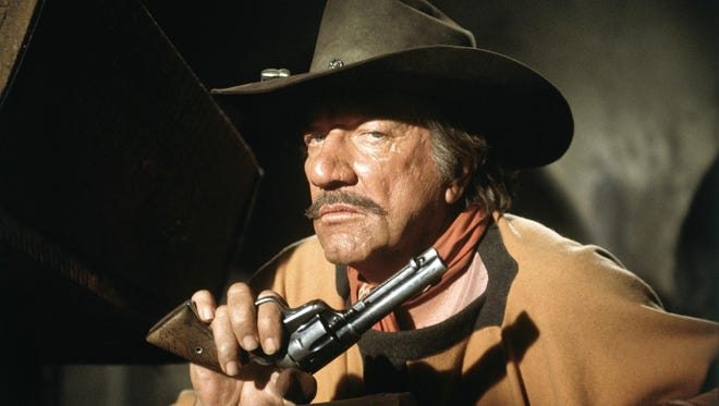 Richard Boone as  the villainous Fain in Big Jake