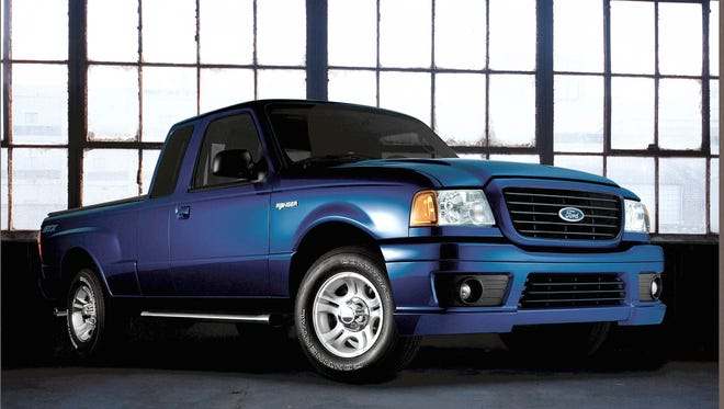 A Ford Ranger pickup similar to this one, from a 2004 file photo, had an air bag failure
