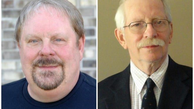 Richard Wagner (left) and Bruce Porter (right)