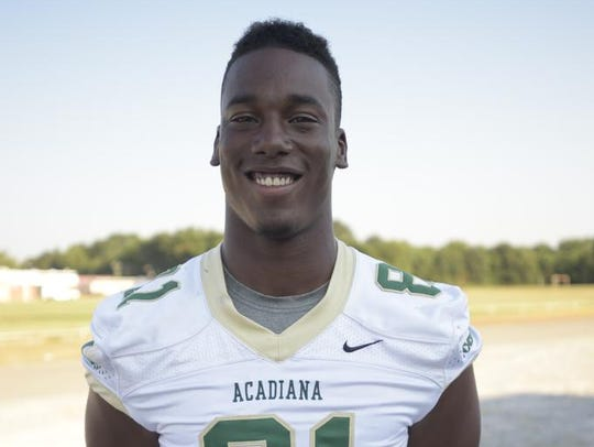 Javonis Isaac, Acadiana High School