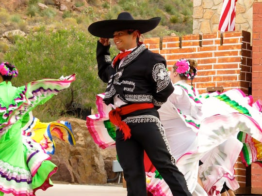 """The story of the El Paso region is told through dance, song and colorful costumes in """"Viva! El Paso."""""""