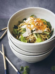 "Cinda Chavich's Speedy Thai Chicken Salad from ""The"