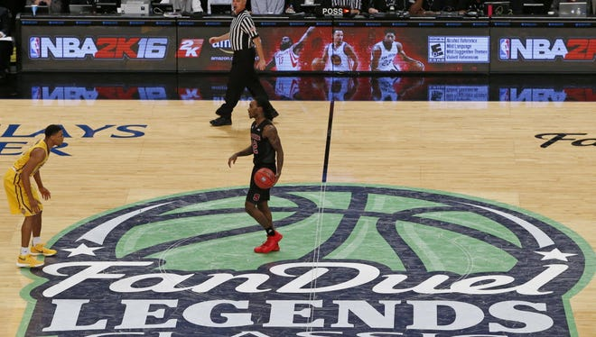 FanDuel, one of the major daily fantasy sports companies, sponsored a basketball tournament at the Barclays Center in 2015. A New Jersey Assembly committee on Monday passed a daily fantasy sports bill to regulate the industry.