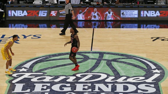 FanDuel sponsored a college basketball event at the