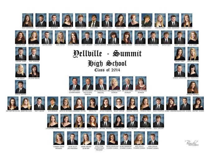 Yellville Class of 2014