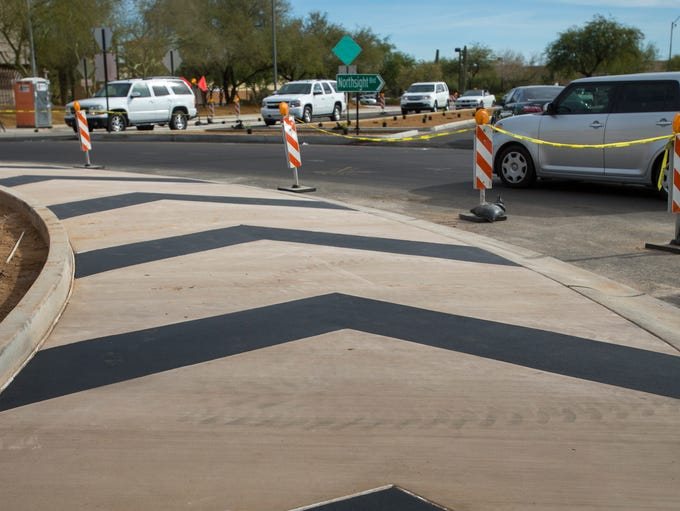 The Scottsdale Transportation Department has been working