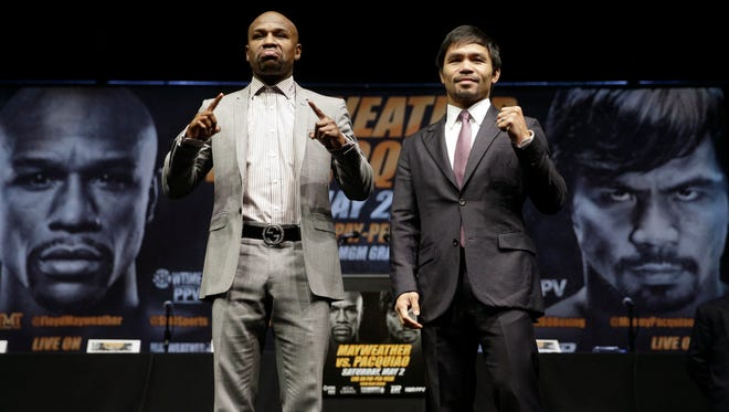 """Several local venues will be airing the """"fight of the century"""" between Floyd Mayweather Jr. and Manny Pacquiao on Saturday."""