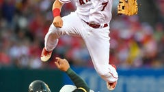 Cincinnati Reds notes: Cliff Pennington happy to be a shortstop again