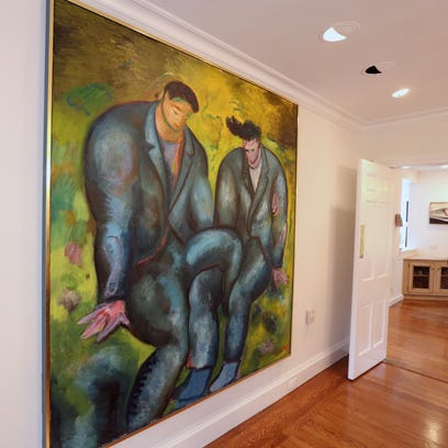 Art collector's Scarsdale home on the market