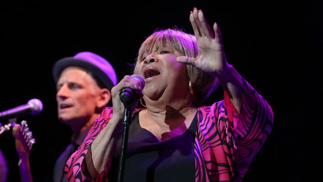 Mavis Staples performs her opening number during her headlining show.