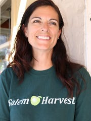 Elise Bauman, executive director of Salem Harvest, hopes folks will come out for an evening of Tuscan food and entertainment to benefit the nonprofit, which provides fresh produce to the hungry in the Salem area.