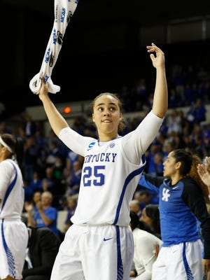 If cleared from a concussion, Kentucky junior guard Makayla Epps is expected to play against ASU on Sunday.