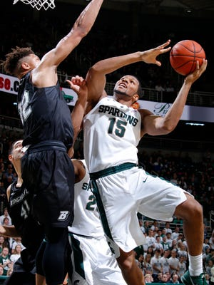 Former MSU forward Marvin Clark Jr. is transferring to St. John's, the school announced Wednesday.