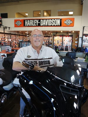 Ray Wright, general manager of Chester's Reno Harley-Davidson