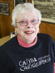 Calligrapher Penny White will be on hand Saturday at
