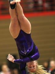 Emma Haugen of Marshfield will compete in the individual balance beam competition as well as all four events for the team competition.