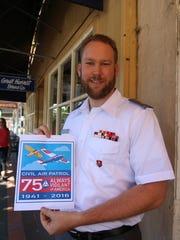 James Hutches of the Civil Air Patrol invites the community