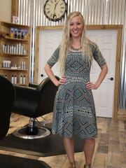 Owner-stylist Carlyn Reid?s Rustic Roots Salon on North Water Street was designed to be ?earthy, cozy and comfortable.?